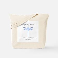 Dragonfly Light Animal Medicine Gifts Tote Bag