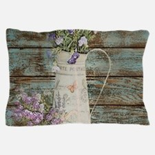 rustic lavender western country Pillow Case