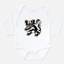 Cute Flanders Long Sleeve Infant Bodysuit