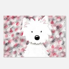 Westie Impressions 2 Postcards (Package of 8)