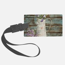 rustic lavender western country Luggage Tag