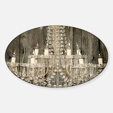 shabby chic rustic chandeli Decal