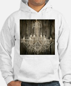 shabby chic rustic chandelier Hoodie
