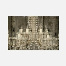 shabby chic rustic chandelier Magnets
