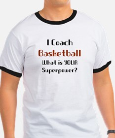 coach basketball T