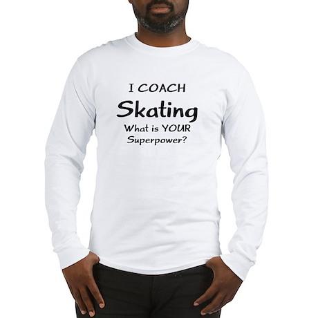skating coach Long Sleeve T-Shirt