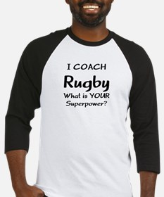 rugby coach Baseball Jersey