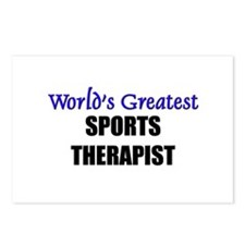 Worlds Greatest SPORTS THERAPIST Postcards (Packag