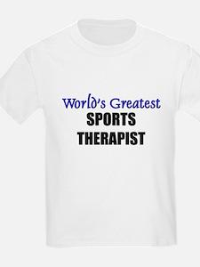 Worlds Greatest SPORTS THERAPIST T-Shirt