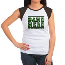 Band Nerd: You Want To Be Me Women's Cap Sleeve T-