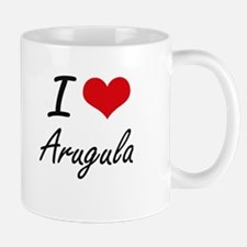I Love Arugula artistic design Mugs