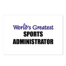 Worlds Greatest SPORTS ADMINISTRATOR Postcards (Pa