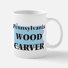 Pennsylvania Wood Carver Mugs