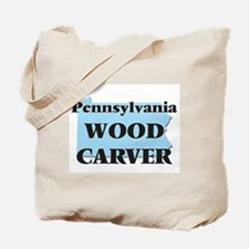 Pennsylvania Wood Carver Tote Bag