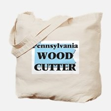 Pennsylvania Wood Cutter Tote Bag