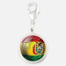 Bolivia Soccer Ball Charms