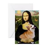 Mona's Pembroke Greeting Card