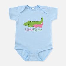 Alligator Little Sister Infant Bodysuit
