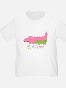 Alligator Big Sister T-Shirt