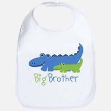 Alligator Big Brother Bib