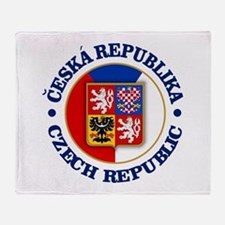 Czech Republic Throw Blanket