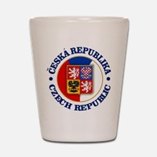 Czech Republic Shot Glass