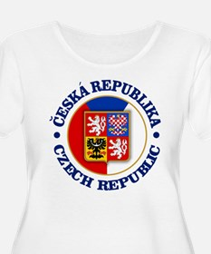 Czech Republic Plus Size T-Shirt