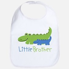 Alligator Little Brother Bib