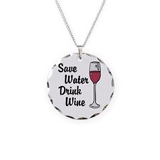 Drink Wine Necklace