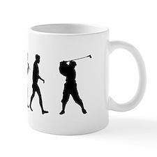 Evolution of Golf Small Mug