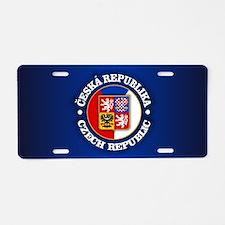 Czech Republic Aluminum License Plate