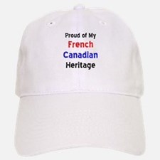 french canadian heritage Baseball Baseball Cap