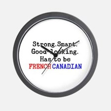 be french canadian Wall Clock