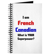 i am french canadian Journal