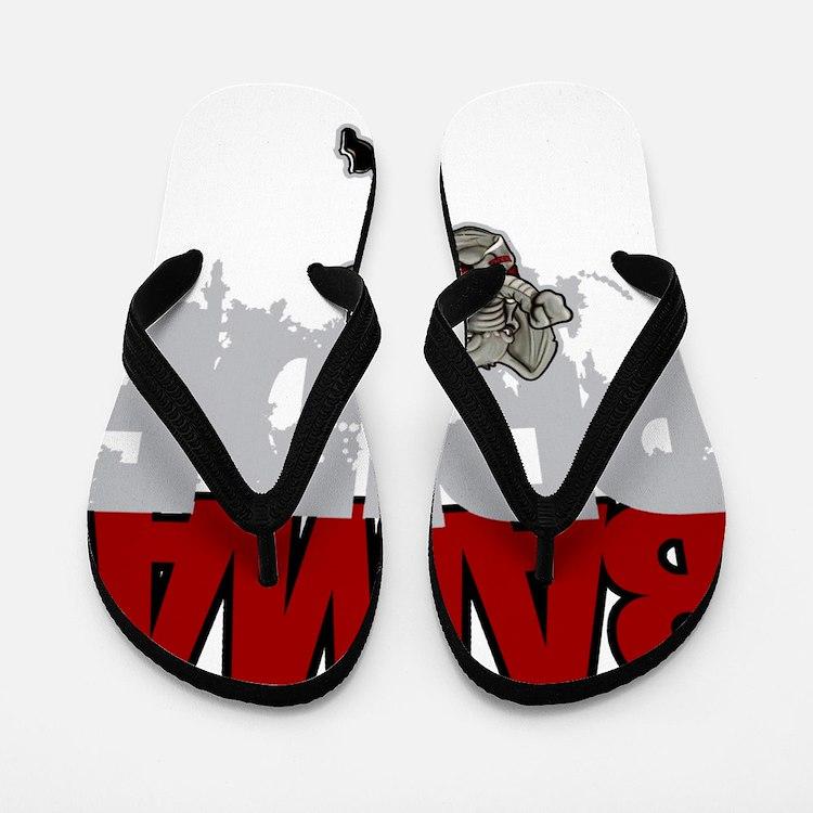 Bama Pride Flip Flops