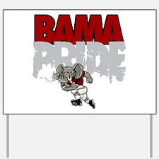 Bama Pride Yard Sign