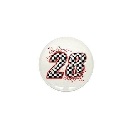 RaceFashion.com 28 Mini Button