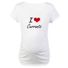 I Love Currants artistic design Shirt