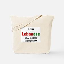 i am lebanese Tote Bag