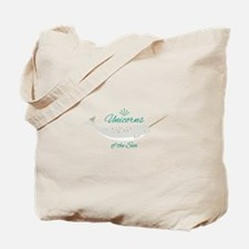 Unicorn Of Sea Tote Bag