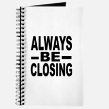 """Always Be Closing"" Journal"