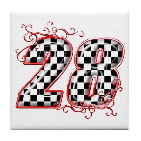 RaceFashion.com 28 Tile Coaster
