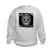 Lace Sugar Skull Sweatshirt