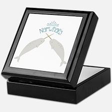 Narwhals Keepsake Box