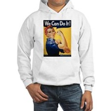 Rosie Riveter We Can Do It Hoodie
