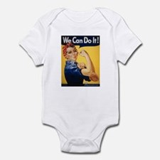 Rosie Riveter We Can Do It Infant Creeper