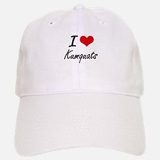I Love Kumquats artistic design Baseball Baseball Cap
