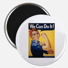 Rosie Riveter We Can Do It Magnet