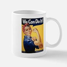 Rosie Riveter We Can Do It Mug
