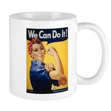 Rosie Riveter We Can Do It Mug